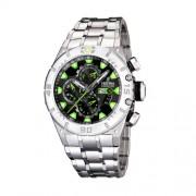 Festina - F16527/3 - Montre Homme - Quartz - Chronographe - Chronomètre - Bracelet Acier Inoxydable Argent