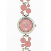DDP - 4009406 - Montre Fille - Quartz Analogique - Bracelet en Métal Rose