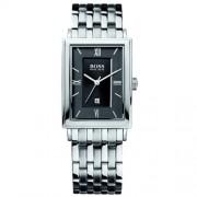 Hugo Boss - 1512171 - Montre Homme - Quartz Analogique - Cadran Noir - Bracelet Acier