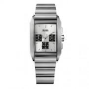 Hugo Boss - 1512580 - Montre Homme - Quartz Analogique - Cadran Gris - Bracelet Métal Argent