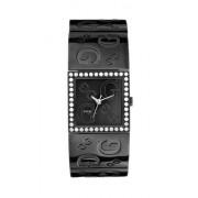 Guess? - G-Mix 12544L1 - Montre Femme - Quartz - Analogique - Bracelet Acier Inoxydable Noir