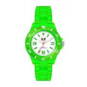 ICE-Watch - NE.GN.B.P - Montre Mixte - Quartz - Analogique - Bracelet Plastique Vert