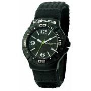 Kahuna - K1C-1008G - Montre Homme - Analogique - Bracelet Tissu Noir