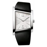 Calvin Klein - K0Q21120 - Montre Femme - Quartz - Analogique - Bracelet cuir noir