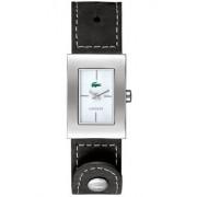 Lacoste - 2000569 - Montre Femme - Quartz Analogique - Bracelet en Cuir Noir