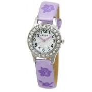 Cactus - CAC-34-L09 - Montre Fille - Quartz Analogique - Bracelet Violet