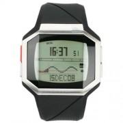 Quiksilver - M128TR-SIL - Montre Homme - Quartz Digital - Chronomètre - Rétro-éclairage - Alarme - Bracelet