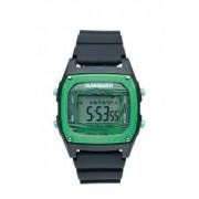 Quiksilver - M150DR-BKG - Montre Homme - Quartz Digital - Chronomètre - Rétro - éclairage d'Alarme - Calendrier - Bracelet