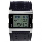 Roxy - W084BL-ABK - Montre Femme - Quartz Digital - Calendrier - Chronomètre - Alarme - Rétro-éclairage - Bracelet Violet