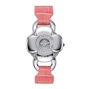 Cerruti - 4340612 - Montre Femme - Quartz - Analogique - Bracelet Cuir Rose