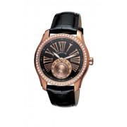 Cerruti - CT100302S03 - Montre Femme - Quartz - Analogique - Bracelet Cuir Noir