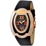 Cerruti - CT101412D03 - Montre Femme - Quartz - Analogique - Bracelet Cuir Noir