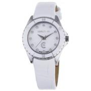 Cerruti - CRM029N216B - Montre Femme - Quartz Analogique - Bracelet Cuir Blanc