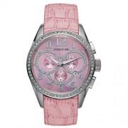 Cerruti - 4362047 - Montre Femme - Quartz - Analogique - Chronographe - Bracelet Cuir Rose