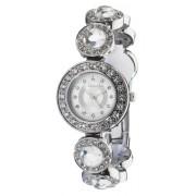 Accessorize - B1003 - Montre Femme - Quartz - Analogique - Bracelet Argent