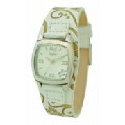 Kahuna - KUS-0027L - Montre Femme - Analogique - Bracelet Cuir Blanc