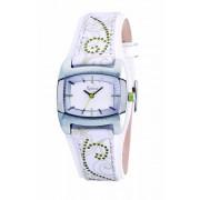 Kahuna - KLS-0123L - Montre Femme - Quartz - Analogique - Bracelet cuir Blanc
